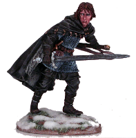 Jon Snow ; © 2008, Dark Sword Miniatures Inc.